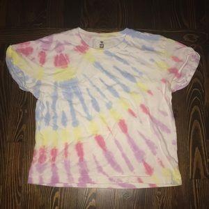 Soft tie-dye t-shirt